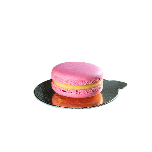 Macaron Himbeer-Passionsfrucht